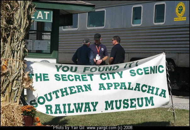 You found it! The Secret City Scenic Southern Appalachia Railway Museum